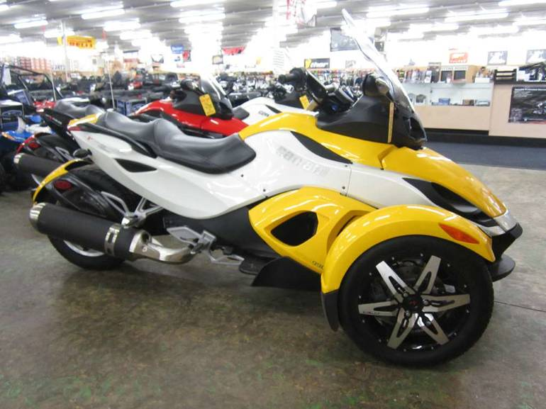 page 29113 2010 can am spyder rs s se5 sport touring new and used can am motorcycles prices. Black Bedroom Furniture Sets. Home Design Ideas